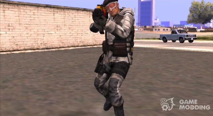 Counter Strike Online 2 Arctic for GTA San Andreas
