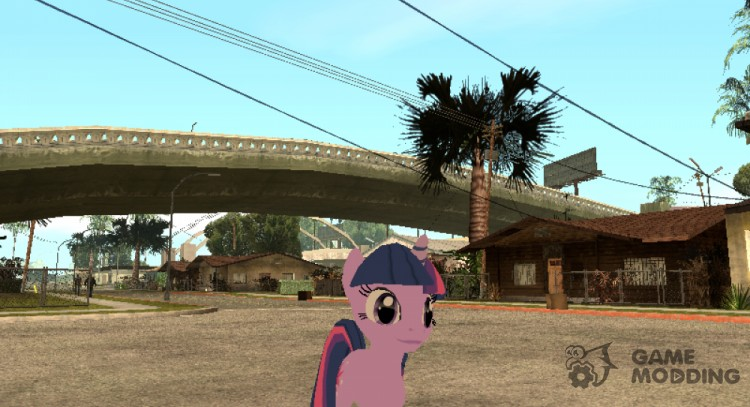 Twilight Sparkle for GTA San Andreas