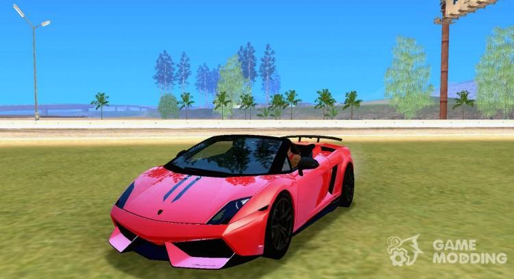 Lamborghini Gallardo Lp570 4 Spyder Performante For Gta San Andreas