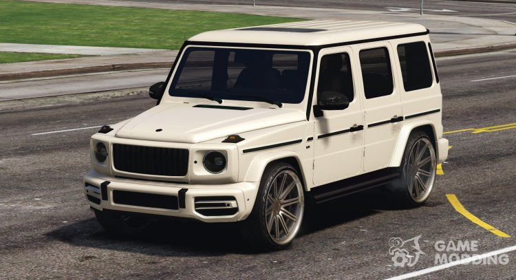 Mercedes-Benz G65 2019 for GTA 5