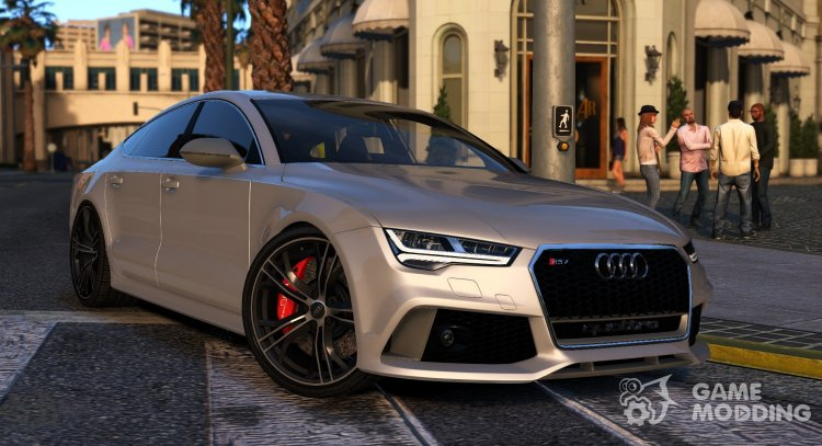 Audi RS7 Sportback for GTA 5