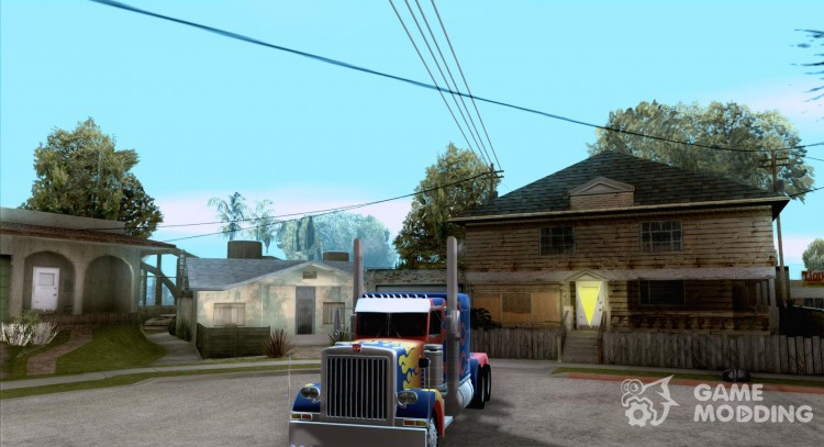 Truck Optimus Prime v 2.0 for GTA San Andreas