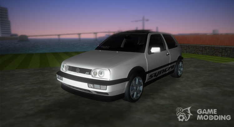 ABT Volkswagen Golf 3 VR6 Turbo Syncro for GTA Vice City