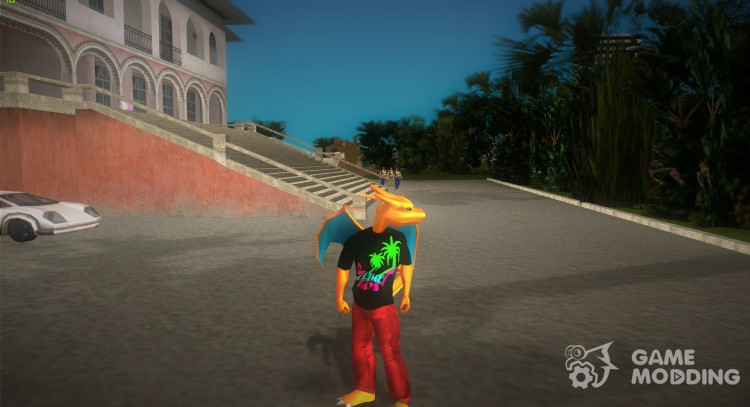 Charizard Player Model for GTA Vice City