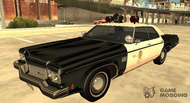 Oldsmobile Delta 88 1973 Los Angeles Police Department for GTA San Andreas