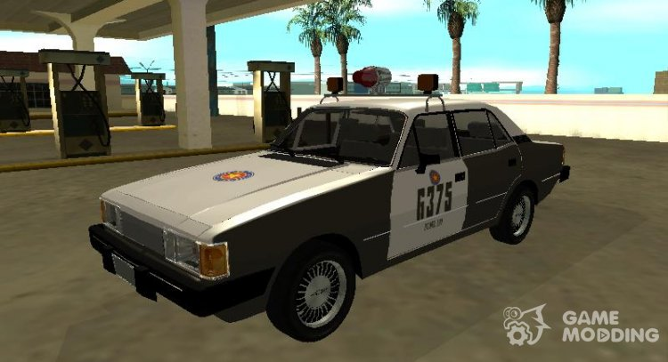 Chevrolet Opal of the Military Police of the state of Rio Grande do Sul for GTA San Andreas