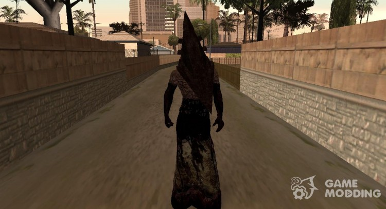 Pyramid head from Silent Hill  for GTA San Andreas
