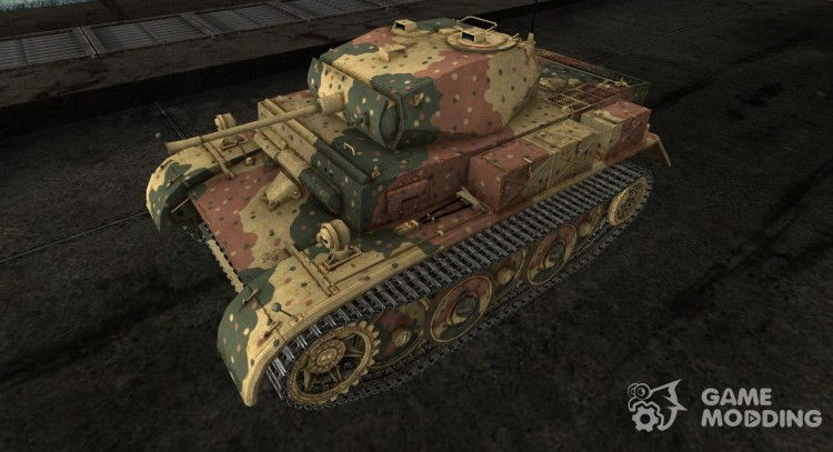 The Panzer II Luchs for World Of Tanks