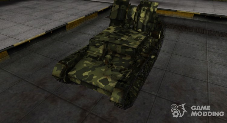 Skin for Su-5 with camouflage for World Of Tanks