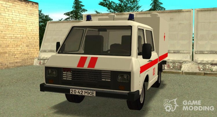 RAF-3311 (2926) for transportation of the dead for GTA San Andreas