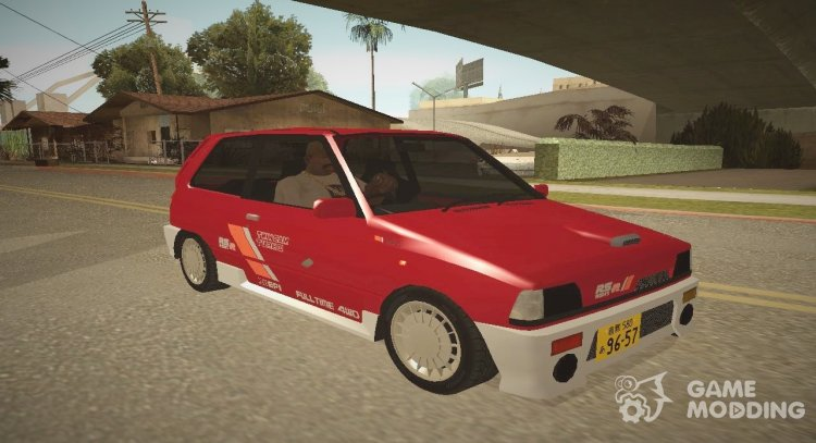 1987 Suzuki Alto Works RS-R (CC72V) ImvehLM for GTA San Andreas