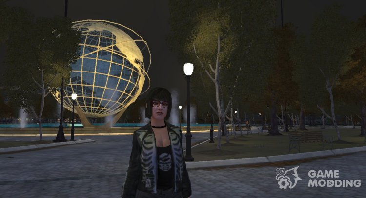 Karen (Emo Punk) for GTA 4