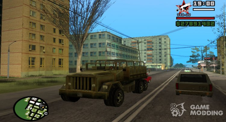 Barracks from Vice City for GTA San Andreas