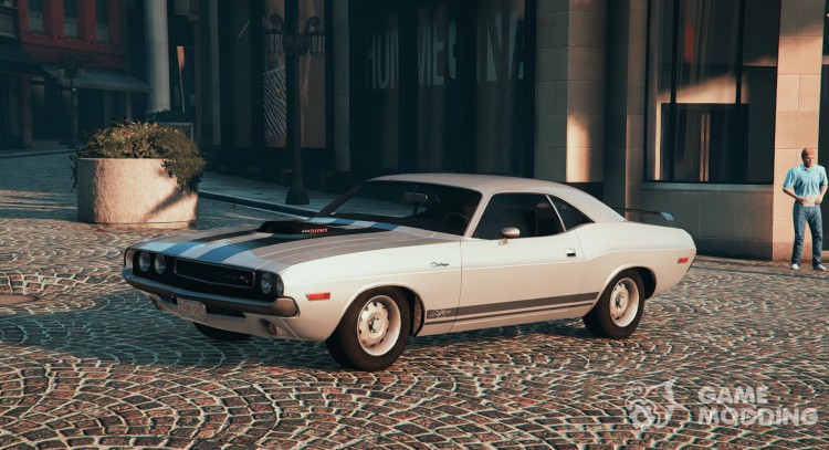 1970 Dodge Challenger Rt 440 Six Pack For Gta 5
