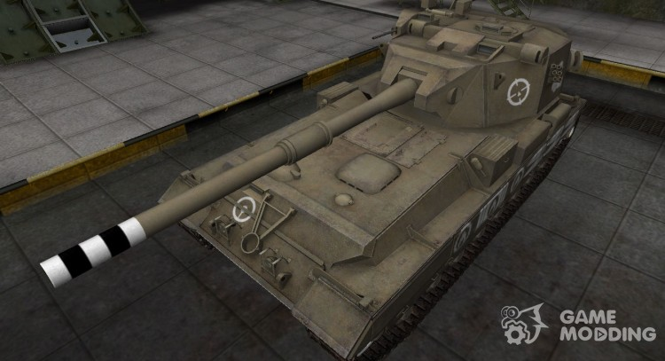 Breaking through the zone, compass FV215b (183) for World Of Tanks