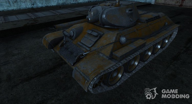 Skin for T-34 from SlapnBadKids for World Of Tanks