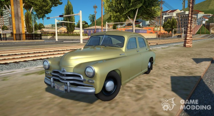 GAS М20В Victory 1955 SA Plate for GTA San Andreas