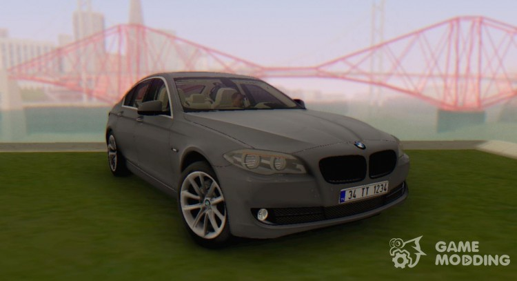 BMW 520 d F10 2012 for GTA San Andreas