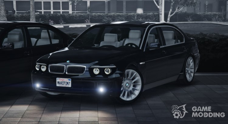 2004 BMW 760Li Individual v1.2 for GTA 5