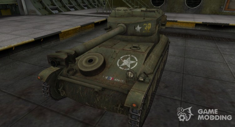 Historical camouflage AMX 12t for World Of Tanks
