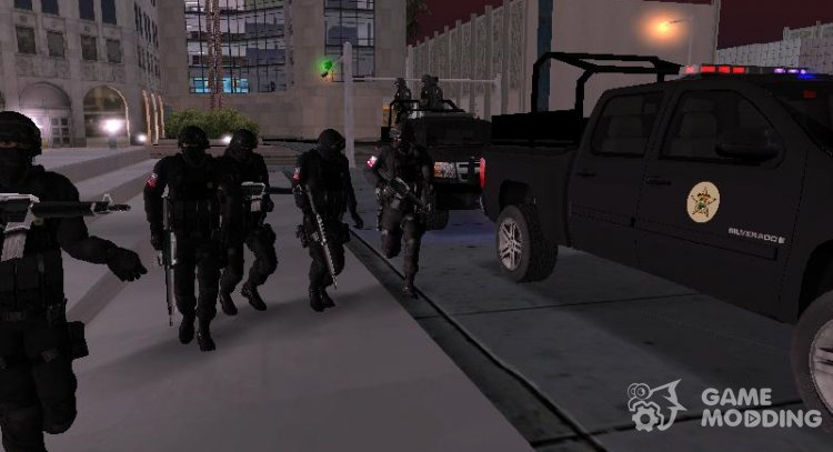 SWAT Protection V1.2 for GTA San Andreas