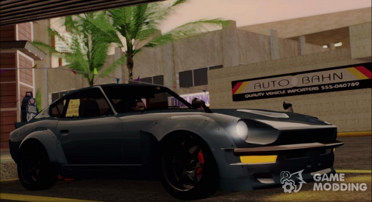 Nissan Fairlady 240z Rocket Bunny for GTA San Andreas