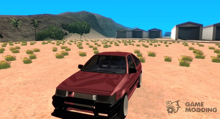 1986 Toyota Corolla Levin for GTA San Andreas