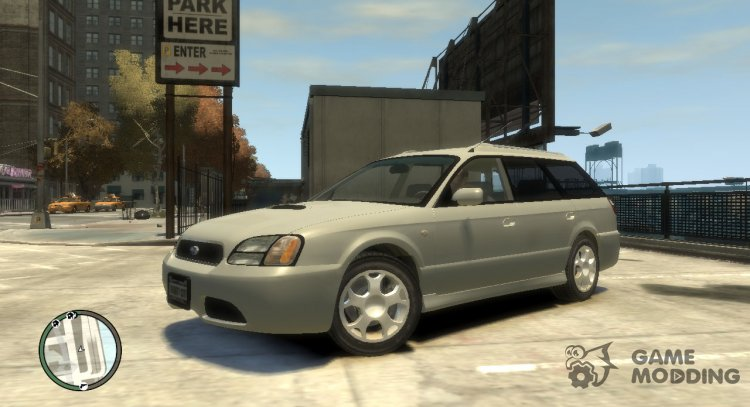 2000 Subaru Legasy Wagon for GTA 4