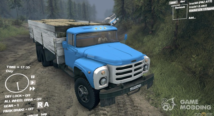 ZIL-133GÂ for Spintires DEMO 2013