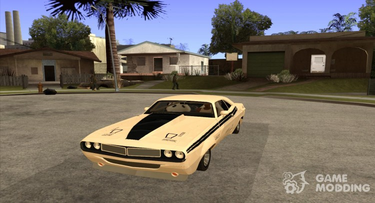Dodge Challenger 1971 Speed for GTA San Andreas