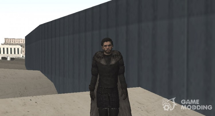Jon Snow from Game of Thrones для GTA San Andreas