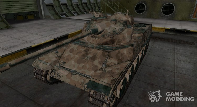 French skin for AMX 50100 for World Of Tanks
