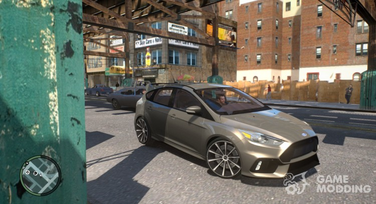 Ford Focus RS для GTA 4