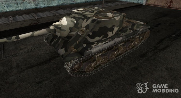 Skin for T25 AT No. 25 for World Of Tanks