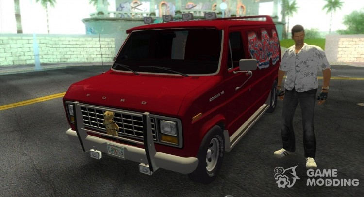 Ford E-150 Gang. for GTA Vice City