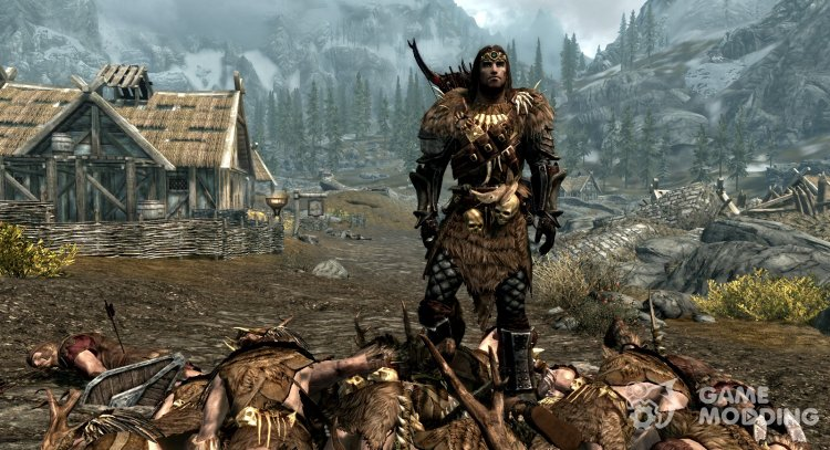 Dead body collision fix for TES V: Skyrim