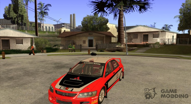 Mitsubishi Lancer Evo IX DiRT2 for GTA San Andreas