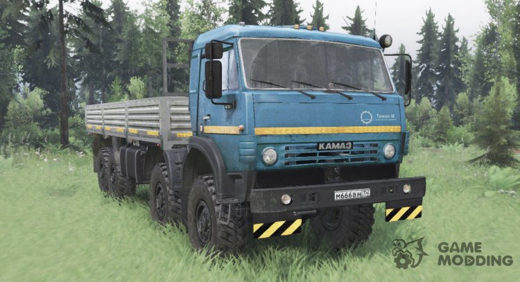 KamAZ 63501 for Spintires 2014