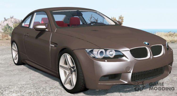 BMW M3 coupe (E92) 2007 for BeamNG.Drive