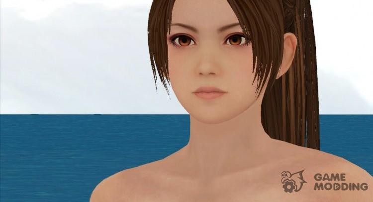 Dead or Alive 5 LR Mai Shiranui Nude v1 Hairy для GTA San