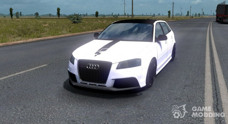 Audi RS3 for Euro Truck Simulator 2