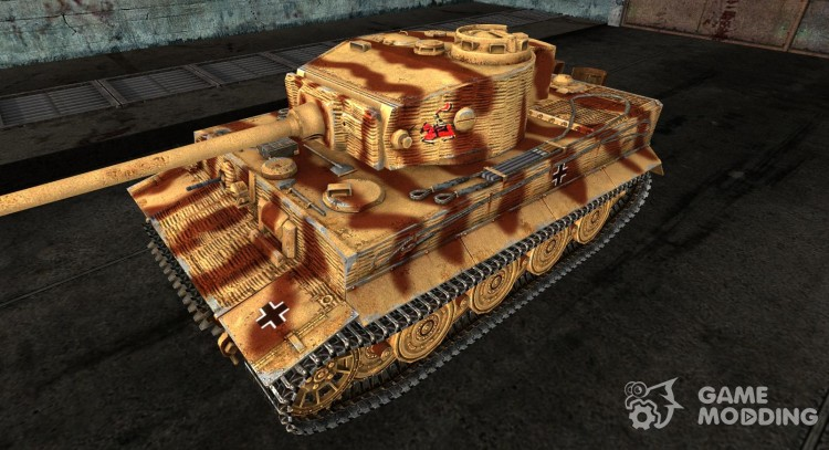 PzKpfw VI Tiger 13 для World Of Tanks
