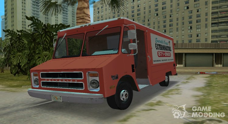 Chevrolet Step Van 30 1985 for GTA Vice City