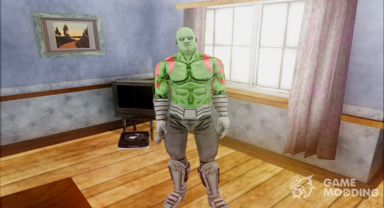 Guardians of the Galaxy Drax for GTA San Andreas