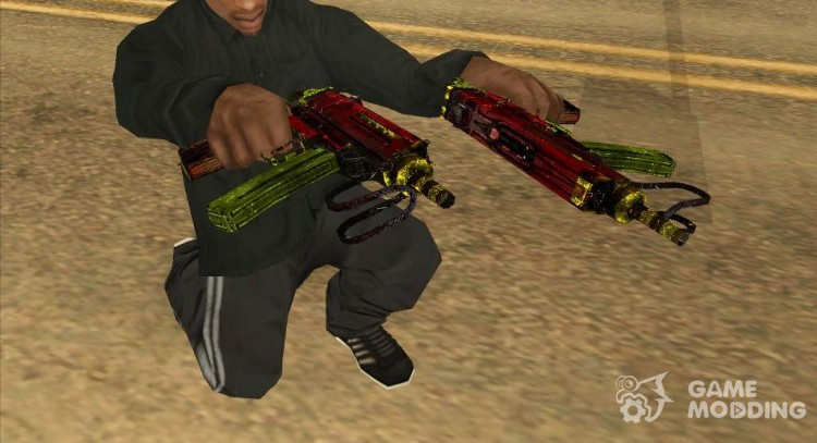 Tec9 Grunge for GTA San Andreas