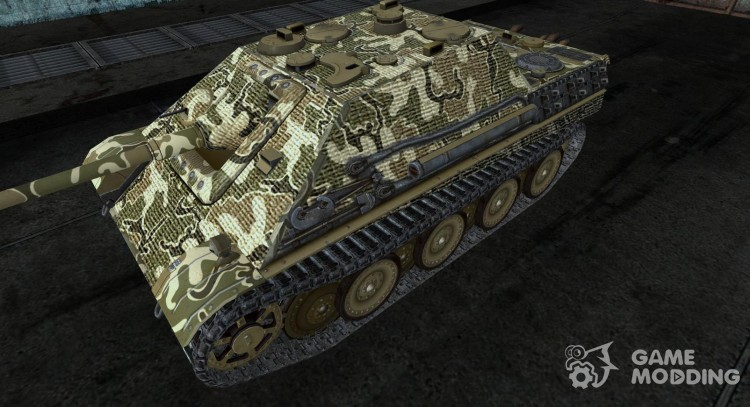 Jagdpanther Fox_Rommel for World Of Tanks