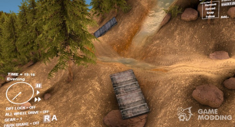 Map of Guirbaden v1.4 for Spintires DEMO 2013
