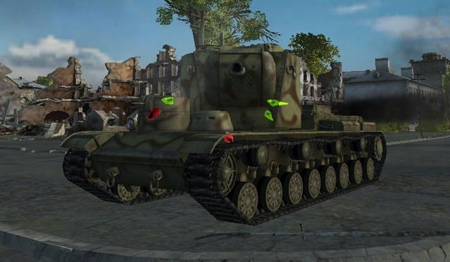 MOD color penetration for World Of Tanks