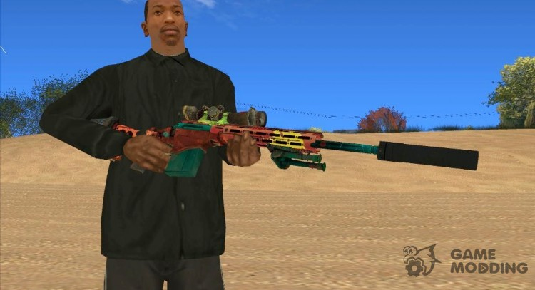 Sniper Rifle Grunge for GTA San Andreas
