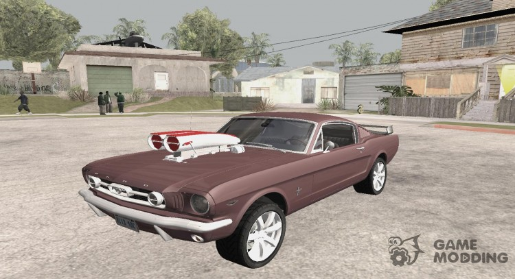 1966 Ford Mustang Fastback Chrome Edition for GTA San Andreas